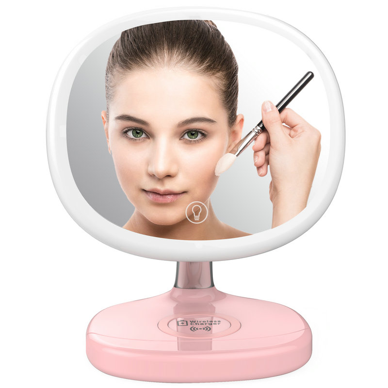 D7C Wireless Charger Mirror Make-up lamp
