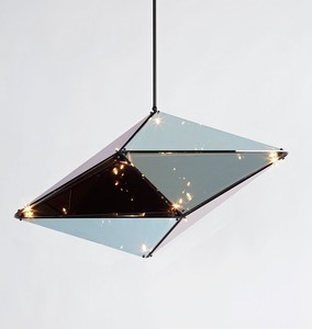 GLASS  Pendant Light - Vertical