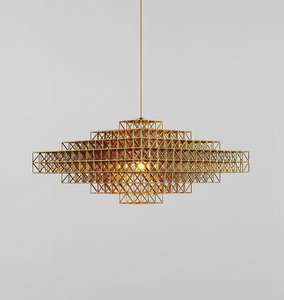 Gridlock Pendant Light - 76mm