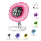 D7 Wireless Charger Mirror Make-up lamp