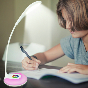 S10A LED desk lamp with RGB light